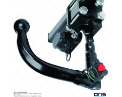 Mercedes C-Class Estate 04/2001-2007 Oris Detachable Towbar