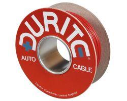 Twin Core Flat PVC Auto Cable - 2 x 1.00mm² - 30m/100m Reel