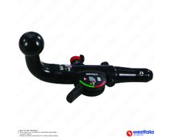 Peugeot Bipper Van 2008 Onwards Westfalia Detachable Towbar