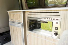 Custom Built Kitchen - VW T5 Campervan Conversion