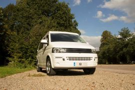 White VW T5 Campervan Conversion