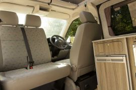Front Swivel Double Seat - VW T5 Campervan Conversion