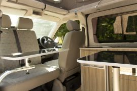 Pop up Dining Table - VW T5 Campervan Conversion