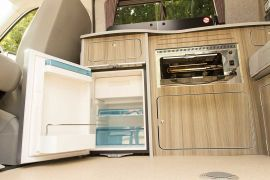 Waeco CRX 50 Fridge & SMEV 555 Mini Grill - VW T5 Campervan Conversion