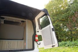 Rear Door Cover - VW T5 Campervan Conversion