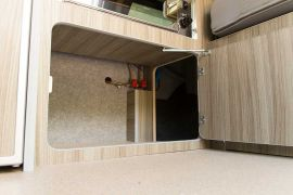 Kitchen Storage Space - VW T5 Campervan Conversion