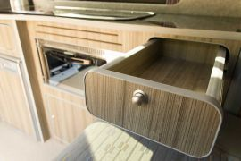Custom Made Drawers - VW T5 Campervan Conversion