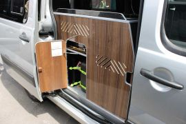 Gas powered cooking facilities – fully tested & certified gas system - Toyota Proace