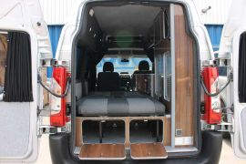 Rear Twin Doors Open To More Storage - Toyota ProAce Campervan