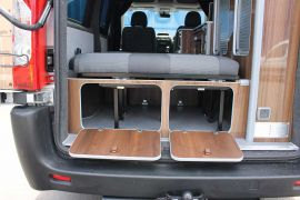 Under Seat Storage - Toyota Proace Campervan Conversion