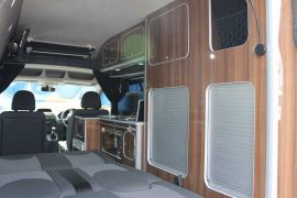 RIB Convertible Double Bed - Toyota Pro-Ace Campervan Conversions