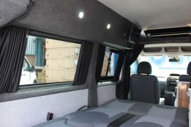 Black Out Curtains Fitted - Toyota Proace Campervan Covnersions