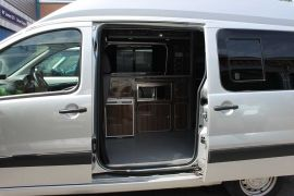 Locking Side Door - Toyota Proace Campervan Conversions