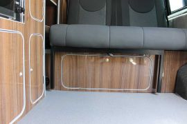Bespoke Storage Space Fitted - Toyota Proace Campervan Conversions