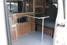 Removable Dining Table - Toyota Pro-Ace Camper