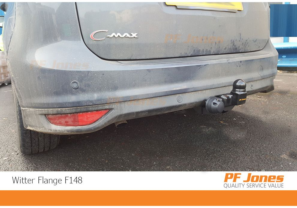 Witter Fixed Swan Neck Towbar For Ford C-MAX MPV 2010-2015