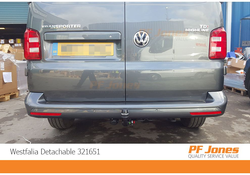 MCLP Fixed Flange Towbar with Electric Kit 7Pin for VW TRANSPORTER 2015 T6 Pickup